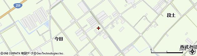 愛知県田原市保美町(今田)周辺の地図