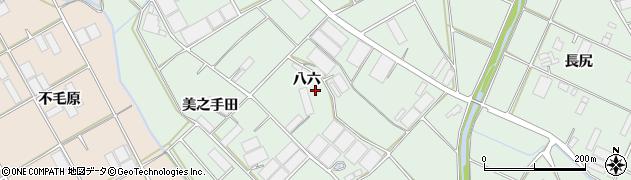 愛知県田原市赤羽根町(八六)周辺の地図