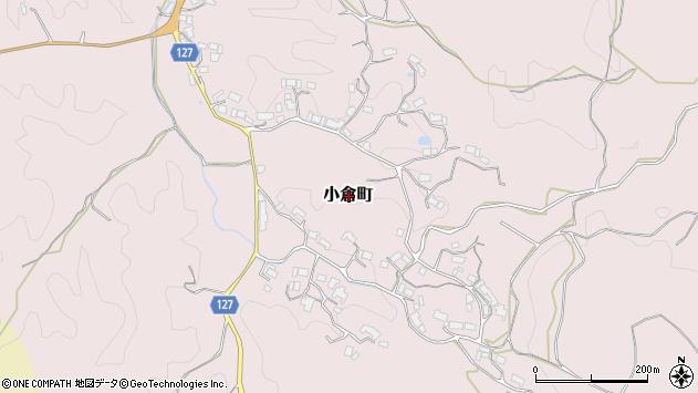 〒632-0111 奈良県奈良市小倉町の地図