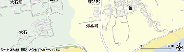 愛知県田原市高松町(弥八島)周辺の地図