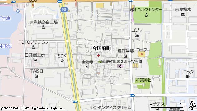 〒639-1031 奈良県大和郡山市今国府町の地図