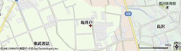 愛知県田原市保美町(坂井戸)周辺の地図