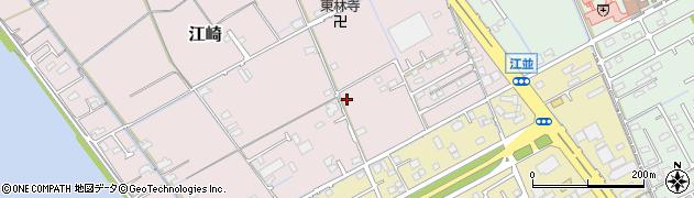 岡山県岡山市中区江崎734周辺の地図