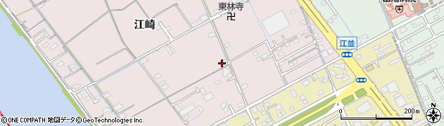 岡山県岡山市中区江崎762周辺の地図