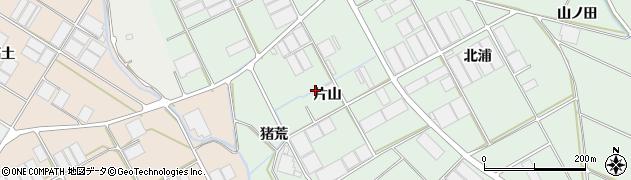 愛知県田原市赤羽根町(片山)周辺の地図