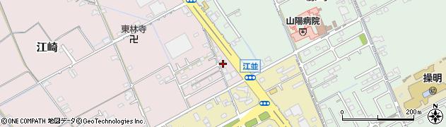 岡山県岡山市中区江崎711周辺の地図