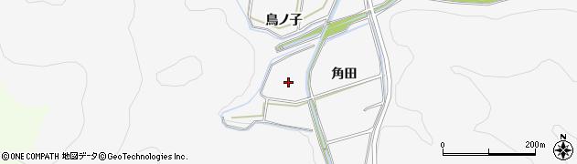 愛知県田原市伊川津町(鳥ノ子)周辺の地図