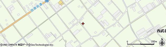 愛知県田原市保美町(段土)周辺の地図