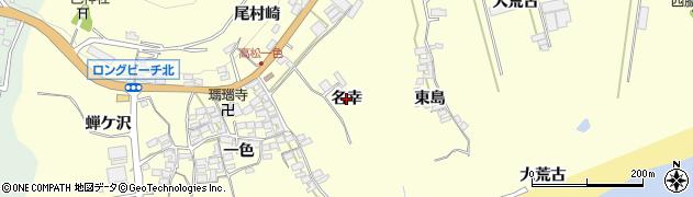 愛知県田原市高松町(名幸)周辺の地図