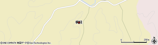 山口県萩市須佐(帆柱)周辺の地図