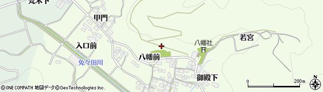 愛知県田原市山田町周辺の地図