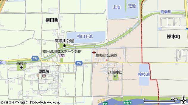 〒639-1113 奈良県大和郡山市櫟枝町の地図