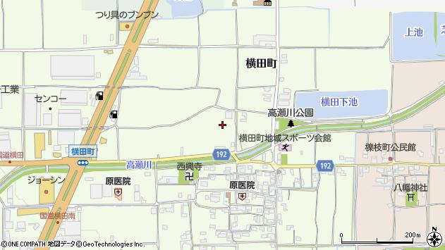 〒639-1115 奈良県大和郡山市横田町の地図