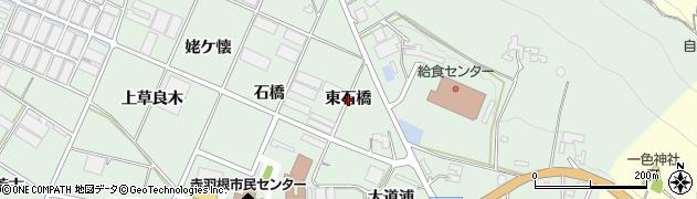 愛知県田原市赤羽根町(東石橋)周辺の地図
