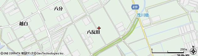 愛知県田原市赤羽根町(八反田)周辺の地図