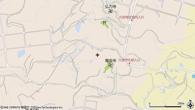 〒636-0924 奈良県生駒郡平群町久安寺の地図