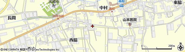 愛知県田原市高松町(宮方辺)周辺の地図
