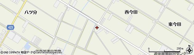 愛知県田原市中山町(貝羽呉)周辺の地図