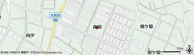愛知県田原市赤羽根町(南田)周辺の地図