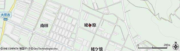 愛知県田原市赤羽根町(姥ケ原)周辺の地図