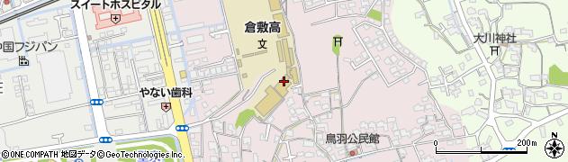岡山県倉敷市鳥羽周辺の地図