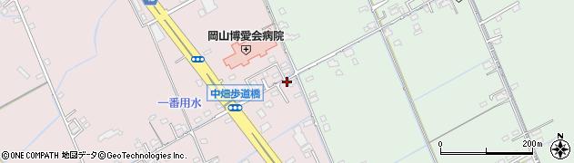 岡山県岡山市中区江崎463周辺の地図