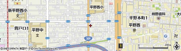 南徳寺周辺の地図