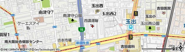 西濃運輸株式会社 大阪支店周辺の地図
