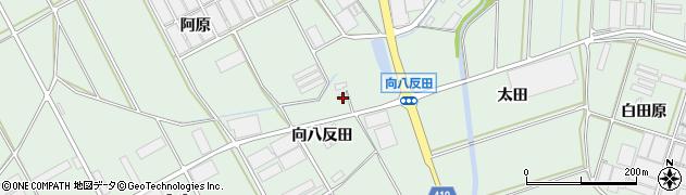 愛知県田原市赤羽根町(向八反田)周辺の地図