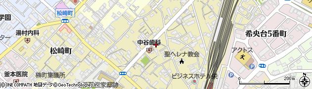 名張駅前マンション周辺の地図