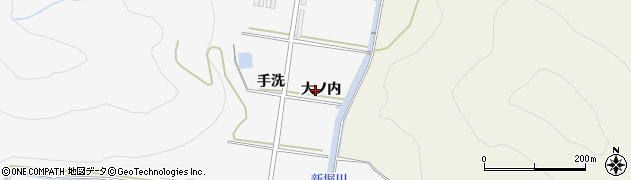 愛知県田原市伊川津町(大ノ内)周辺の地図