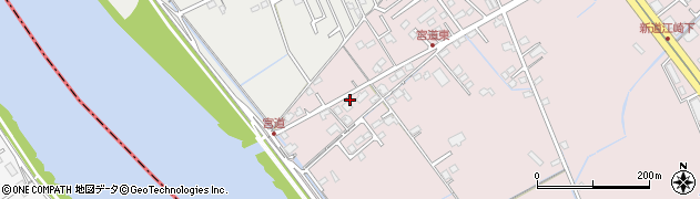 岡山県岡山市中区江崎9周辺の地図