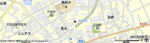 愛知県田原市高松町(実相)周辺の地図