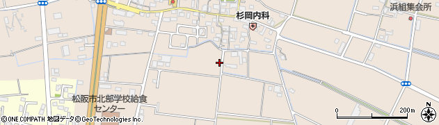 三重県松阪市曽原町周辺の地図