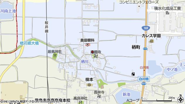 〒632-0005 奈良県天理市楢町の地図