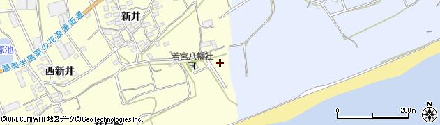 愛知県田原市高松町(東原)周辺の地図