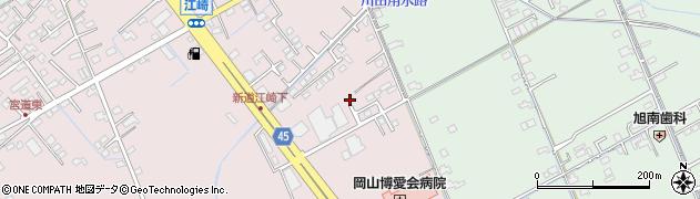 岡山県岡山市中区江崎171周辺の地図