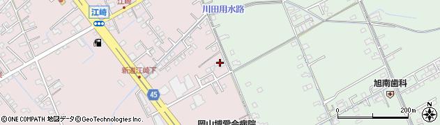 岡山県岡山市中区江崎173周辺の地図