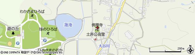 仏種寺周辺の地図