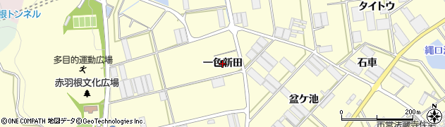 愛知県田原市高松町(一色新田)周辺の地図