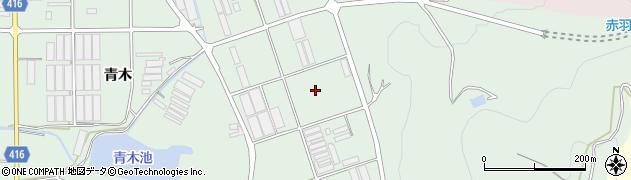 愛知県田原市赤羽根町(東竜ケ原)周辺の地図