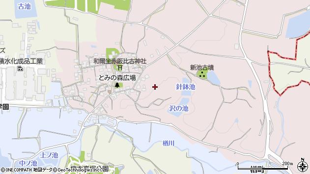 〒632-0002 奈良県天理市和爾町の地図