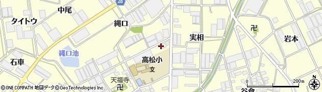 愛知県田原市高松町(蔵屋敷)周辺の地図