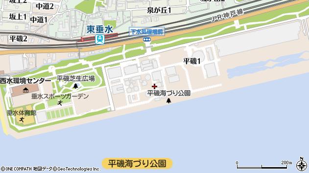 〒655-0892 兵庫県神戸市垂水区平磯の地図