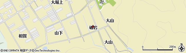 愛知県田原市高木町(破岩)周辺の地図