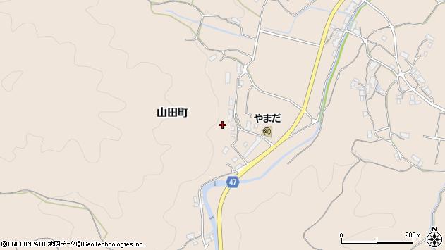 〒632-0121 奈良県天理市山田町の地図