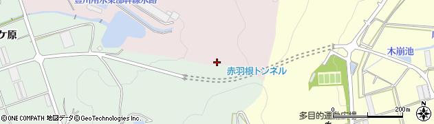 愛知県田原市野田町(比留輪)周辺の地図