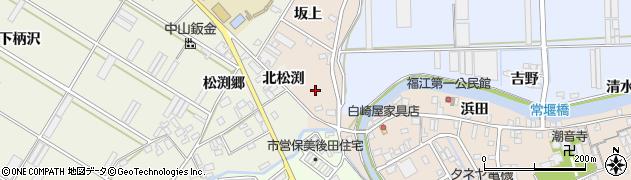 愛知県田原市福江町(金五郎坂)周辺の地図