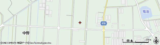 愛知県田原市赤羽根町(宝珠)周辺の地図