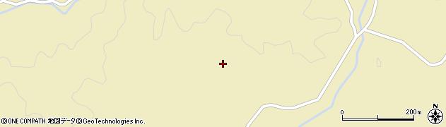 山口県萩市須佐(北谷)周辺の地図